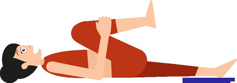 Verspannungen-lösen-beide Knie ran ziehen