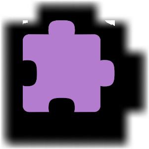 Puzzel-Stück