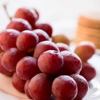 natürliches Schlafmittel - Weintrauben
